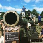 Puolustusvoimien osastolla psee tutustumaan tarkemmin panssarikalustoon elomessut verkatehdas