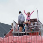 Bag jump pomppuauton katolta hyppiminen sallittu elomessut bagjump